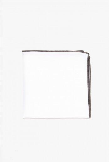 poszetka recman biały 204