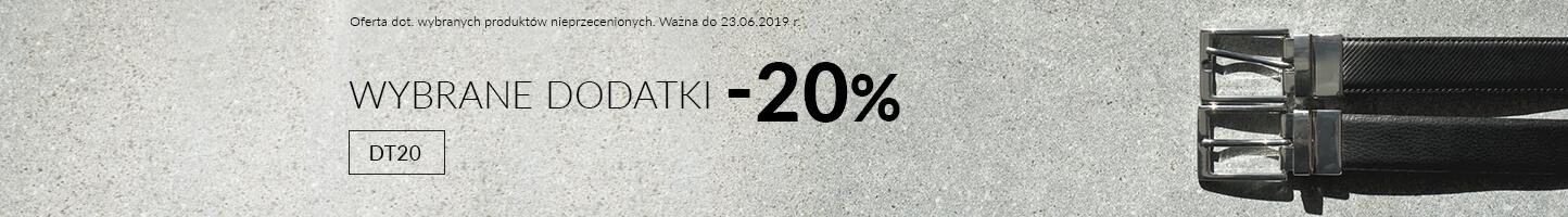 Dodatki -20%