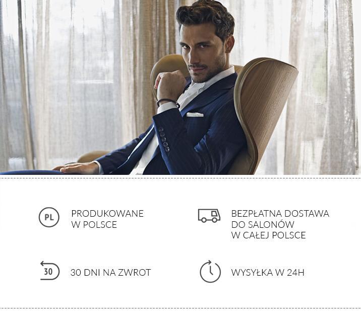 d766016b27c81 Garnitury męskie - biznesowe, ślubne - oficjalny sklep online Recman