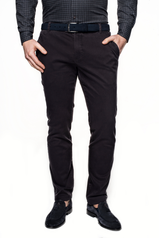 spodnie wendal 214 grafit slim fit