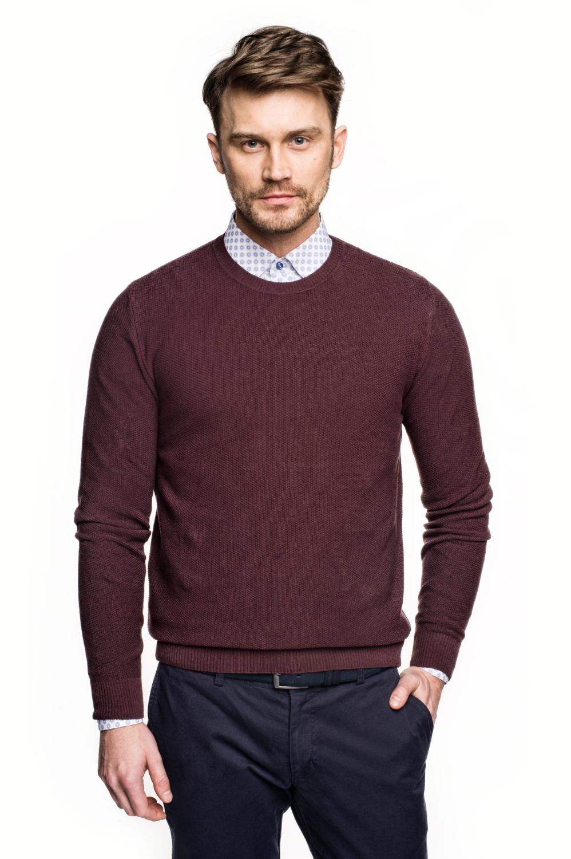 sweter cilian półgolf fiolet