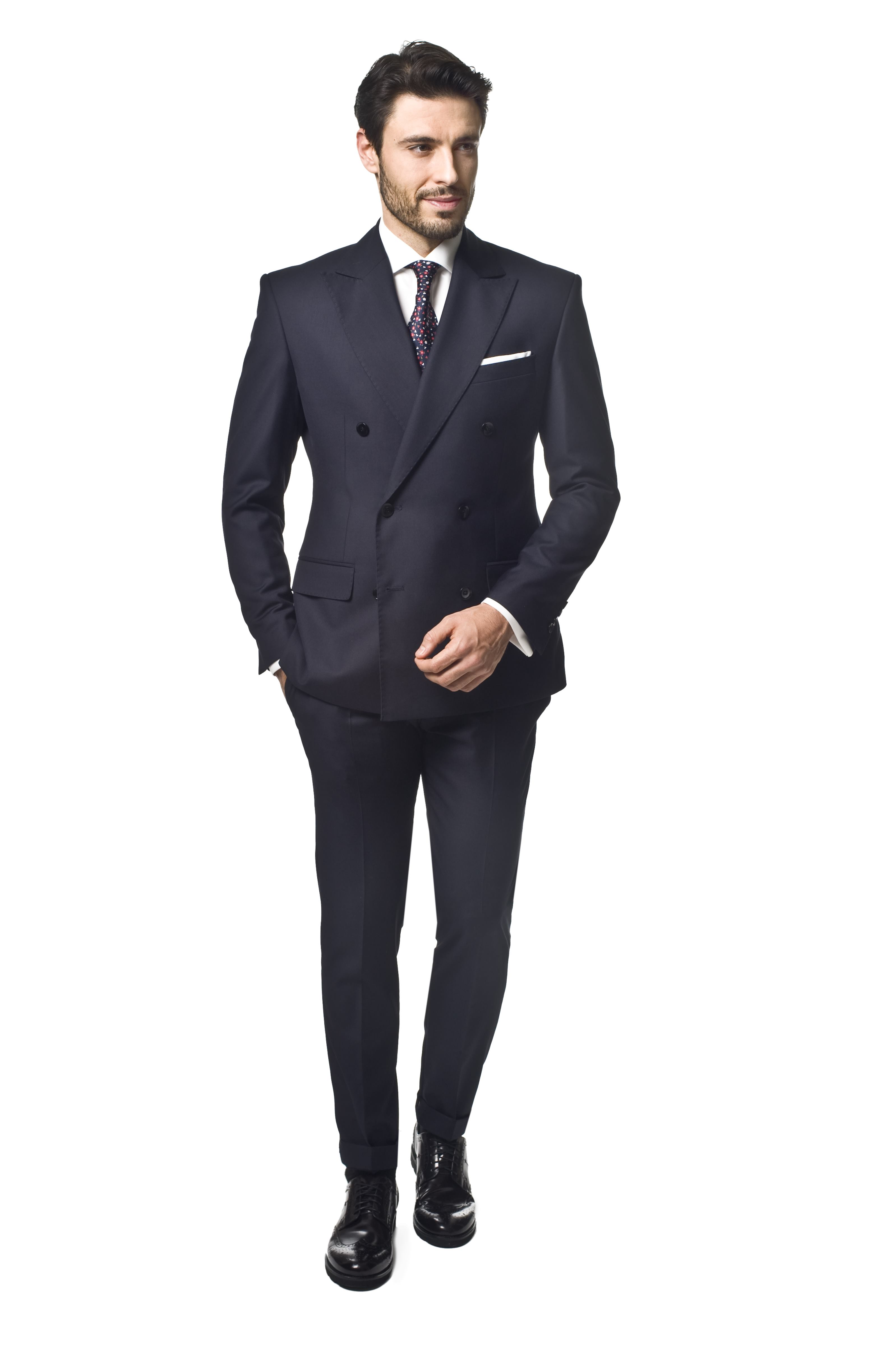garnitur lagarde 311 granatowy slim fit