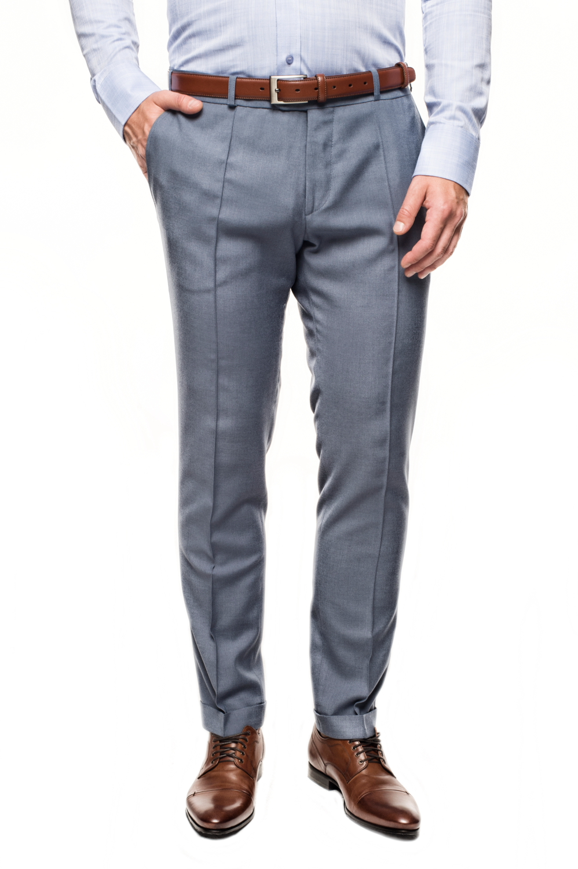 spodnie milagro 113 niebieski
