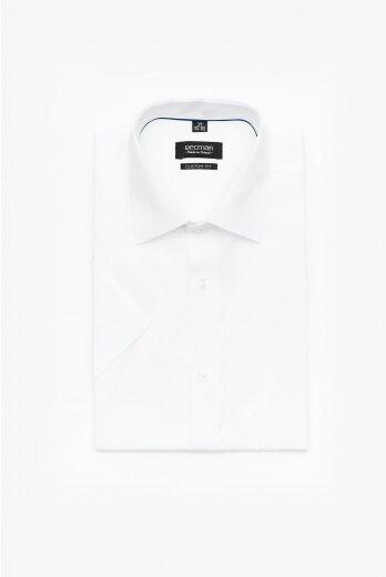 koszula versone 9001 krótki rękaw custom fit biały