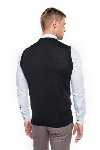 sweter veneto w serek czarny
