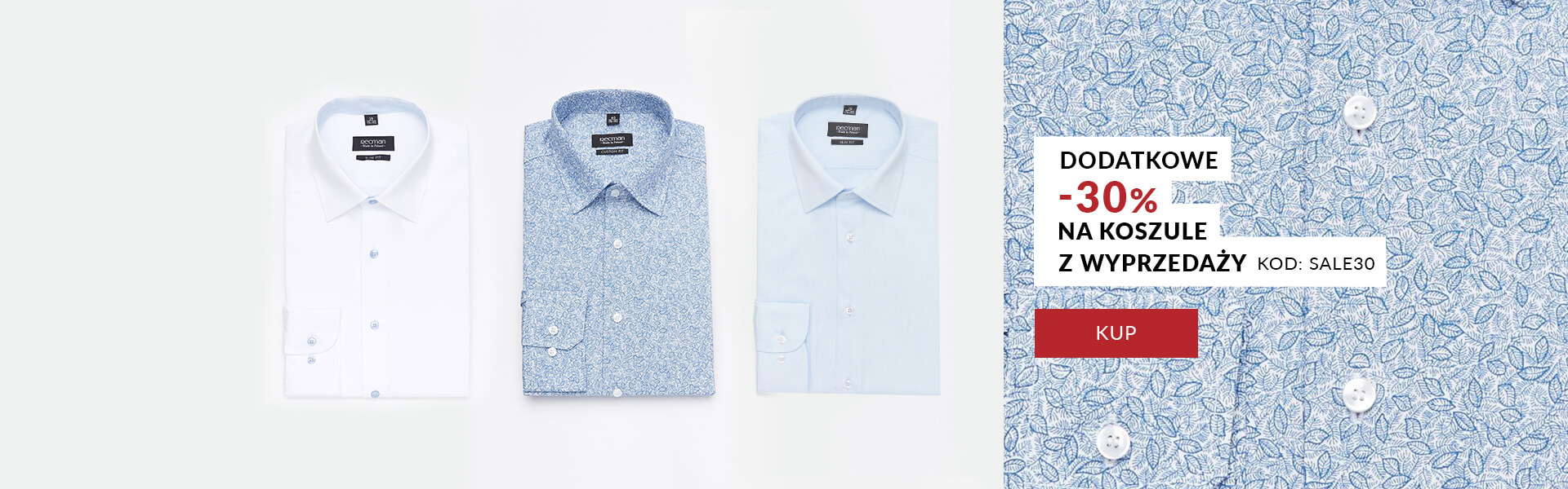 Koszula -30%