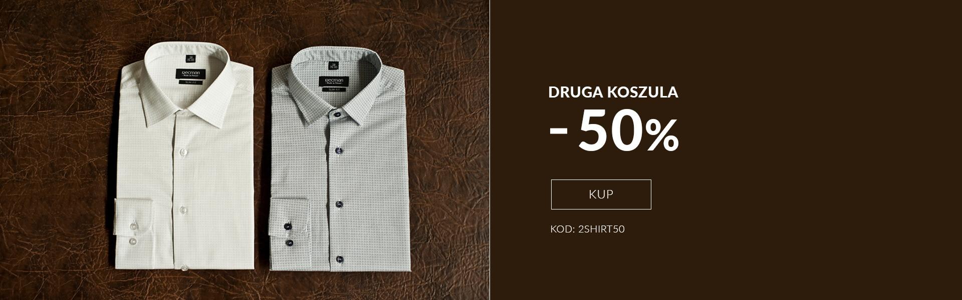 Druga koszula -50%