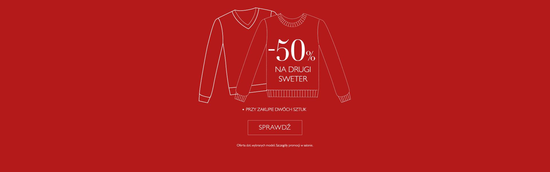 Swetry - promocja