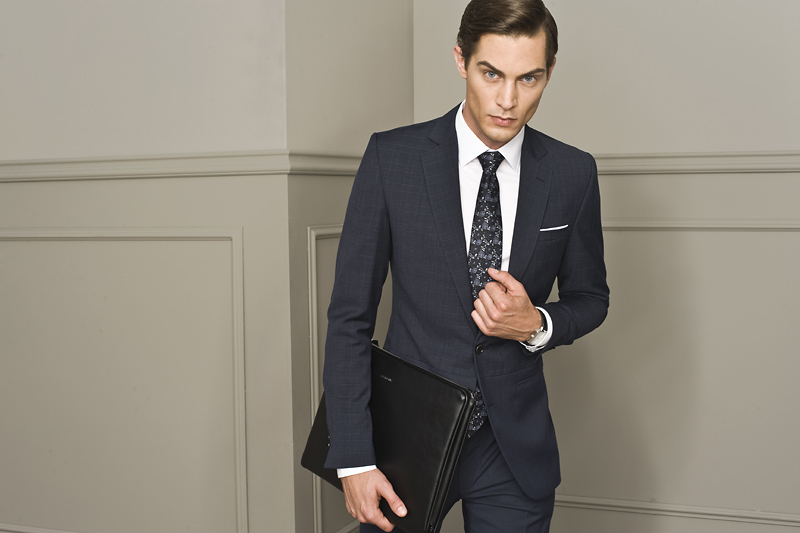 Business dress code – wariant business casual – przykładowa stylizacja