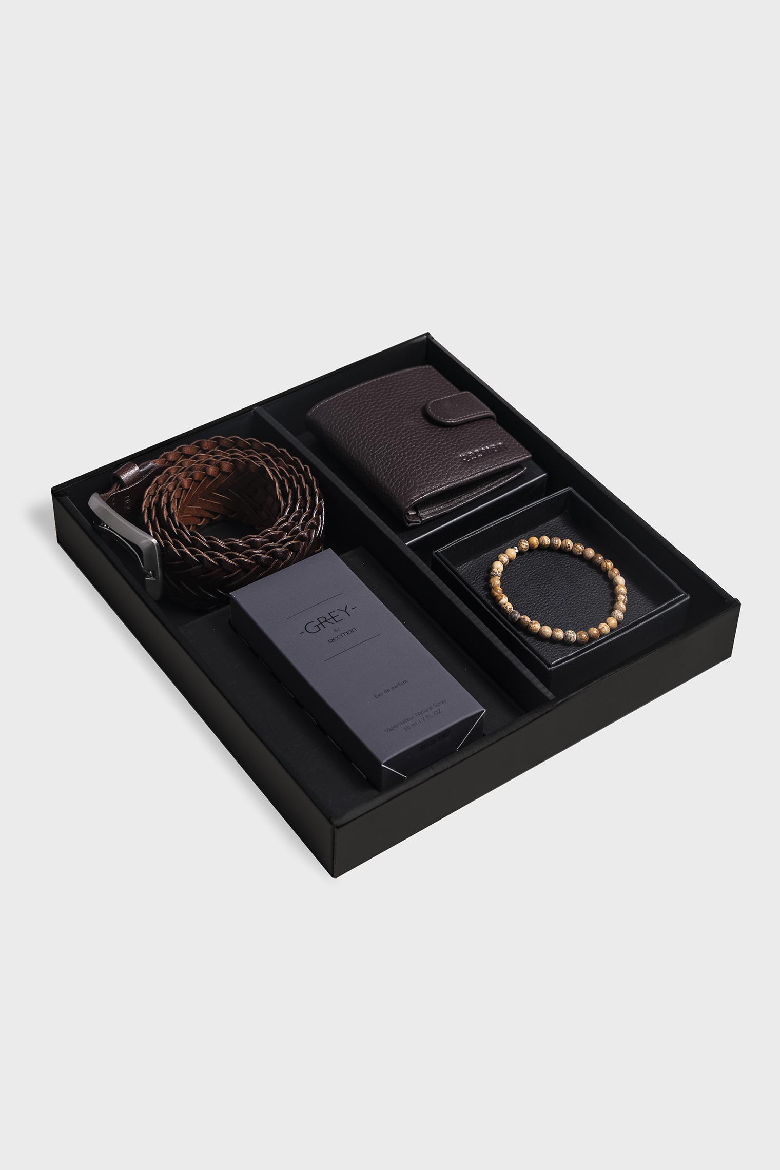 Zestaw prezentowy na imieniny dla mężczyzny – wariant z portfelem