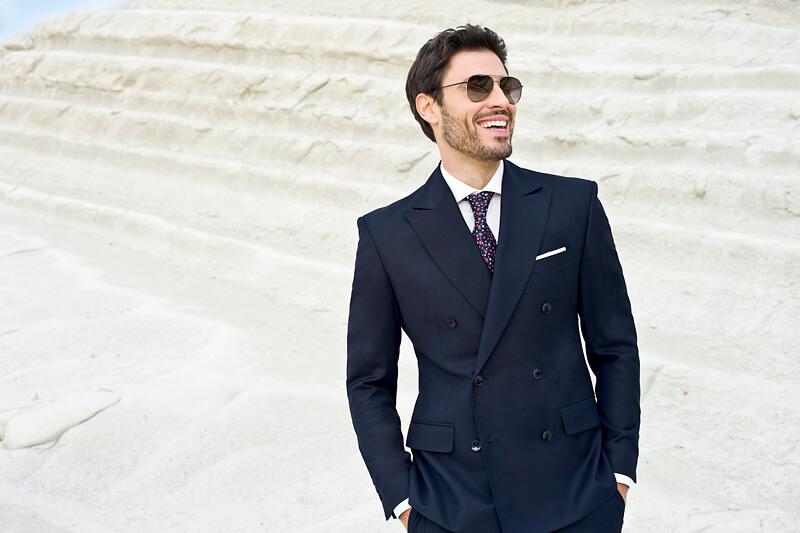760c5d04a0b0c Granatowy garnitur – jak i z czym go nosić? | blog Recman