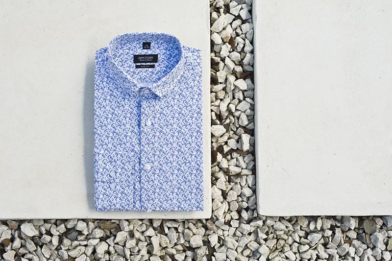 męska elegancka koszula