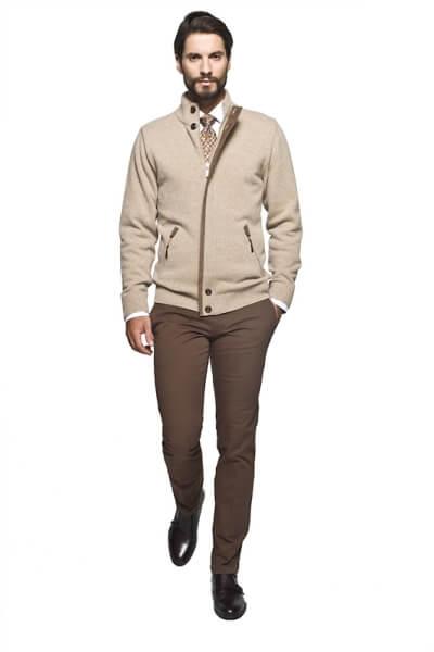 sweter męski kardigan