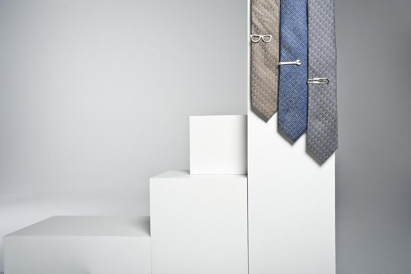 eleganckie spinki do krawata