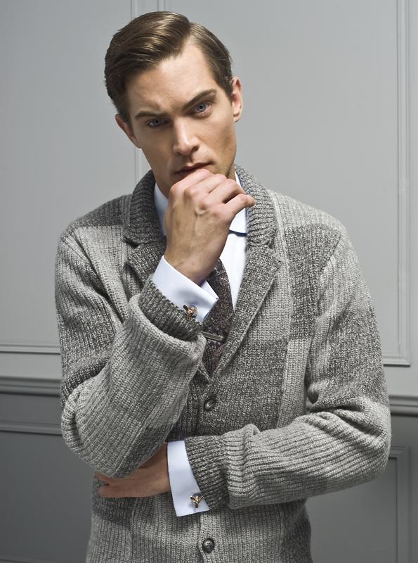 sweter do koszuli