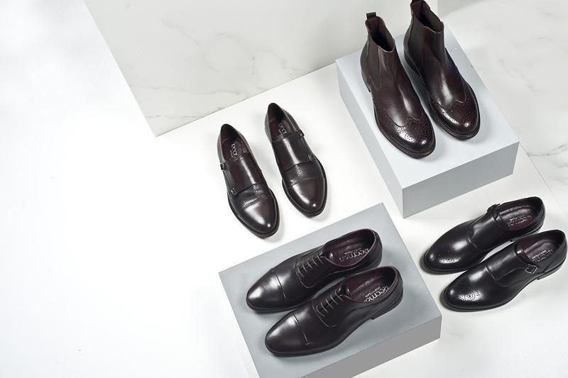 Impregnacja butów skórzanych męskich