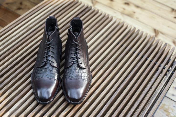 Modne buty zimowe męskie