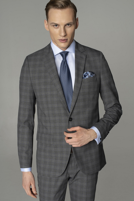 Męski strój na spotkanie biznesowe